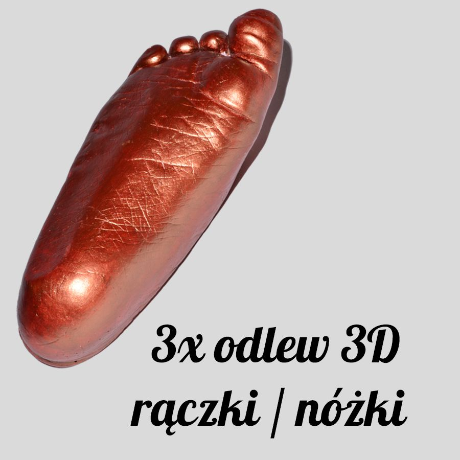 odlew gipsowy 3D
