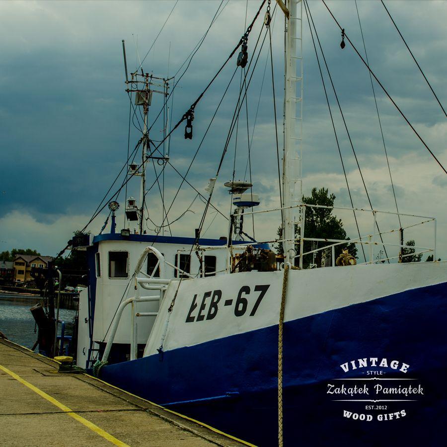 port rybacki w Łebie