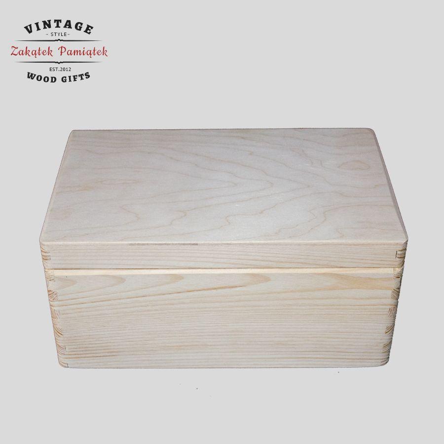 pudełko sosnowe