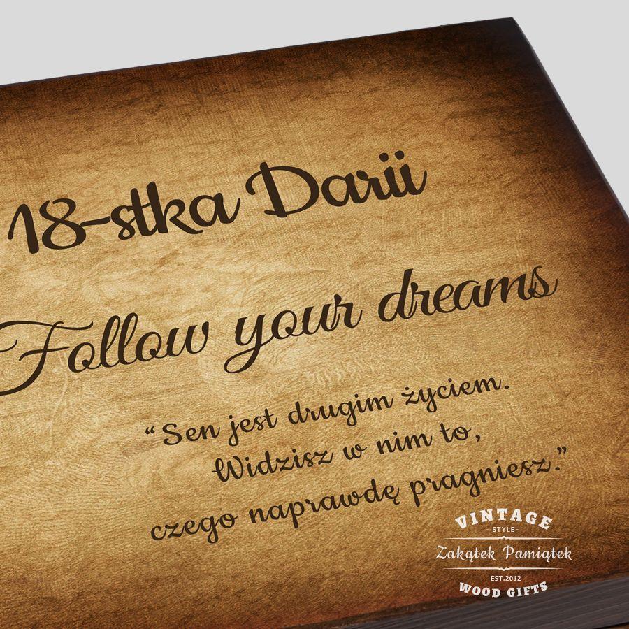 podążaj za marzeniami
