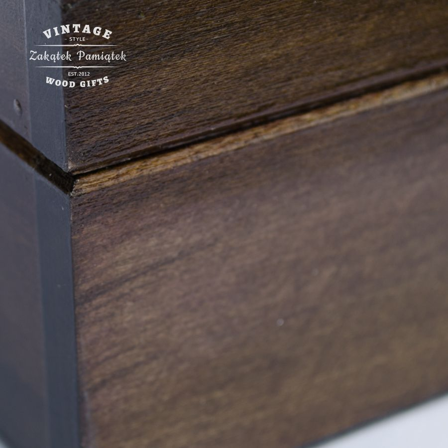 pudełko drewniane, herbaciarka