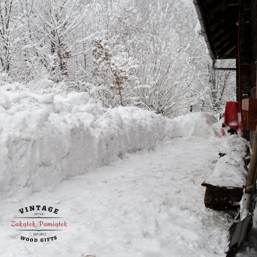 Zima w Domaradzu, podkarpacie