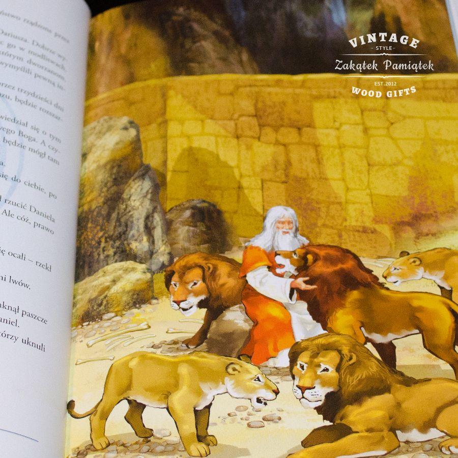 Biblia dla dzieci na Chrzest i Komunię