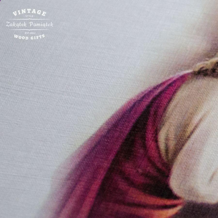Pamiątka Chrztu Świętego Retro życzenia na papierze ozdobnym