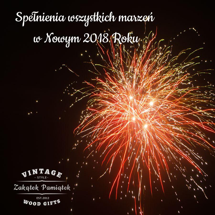 Wszystkiego dobrego w Nowym 2018 Roku