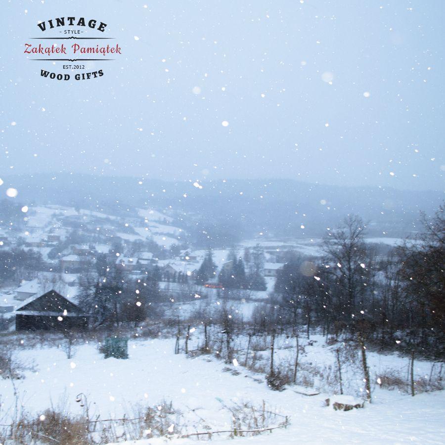 Zima , zima a za 4 dni Święta ;-)