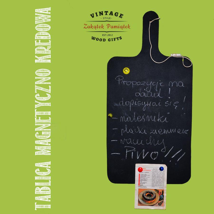 Tablica Magnetyczno Kredowa Do Kuchni