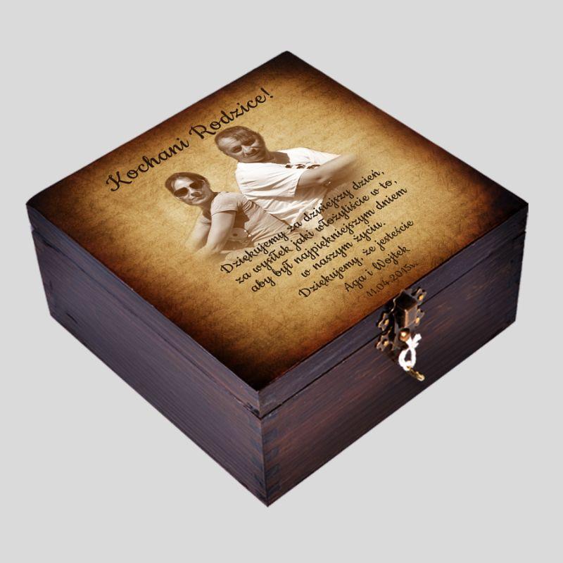 Pudełko Wspomnień na Ślub, Podziękowania dla Rodziców