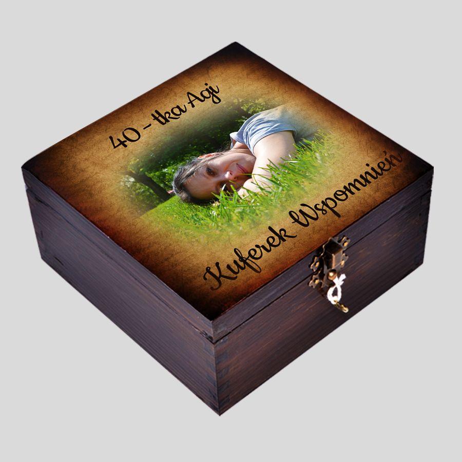 Pudełko Wspomnień Prezent na 40-urodziny
