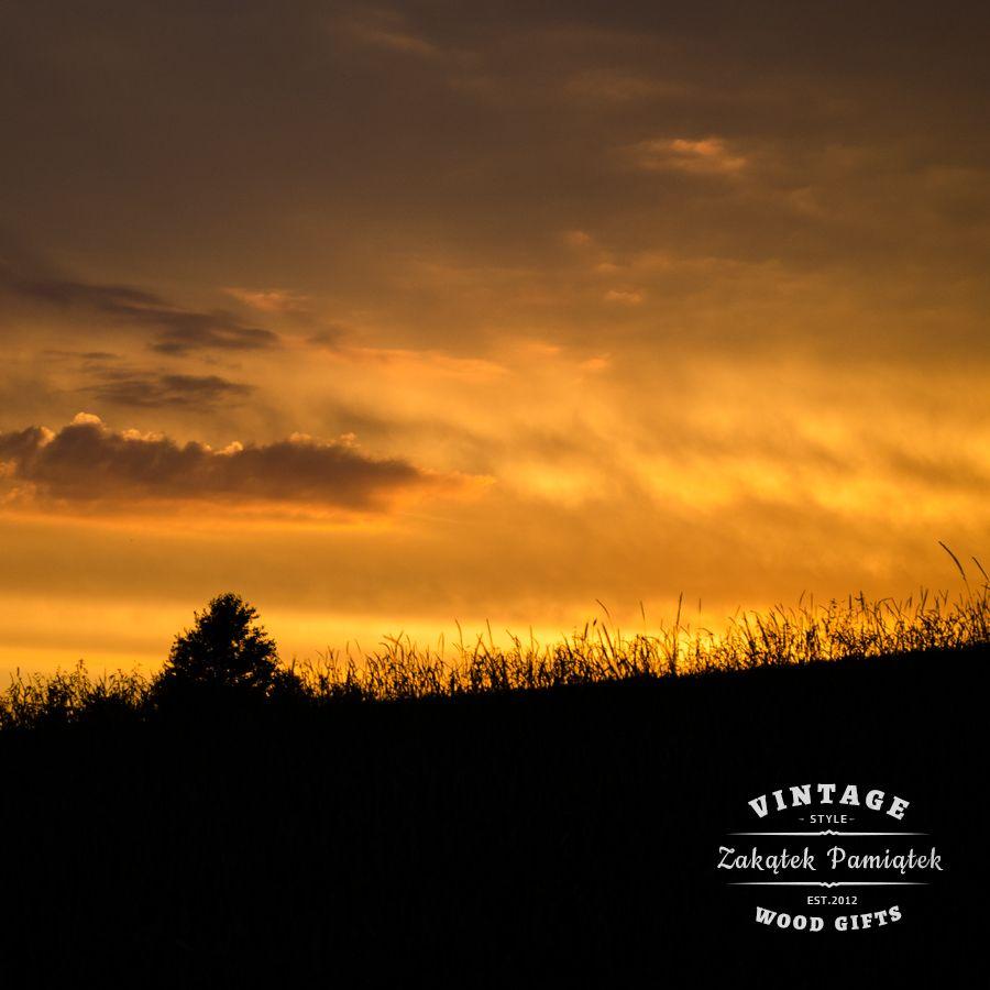 Czerwcowy zachód słońca