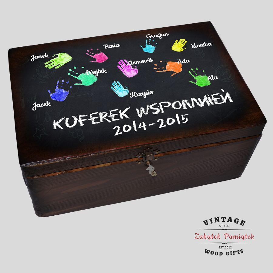 pudełko wspomnień dla wychowawcy