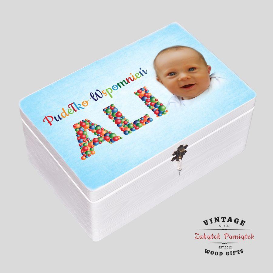 Pudełko Wspomnień na urodziny Dziecka