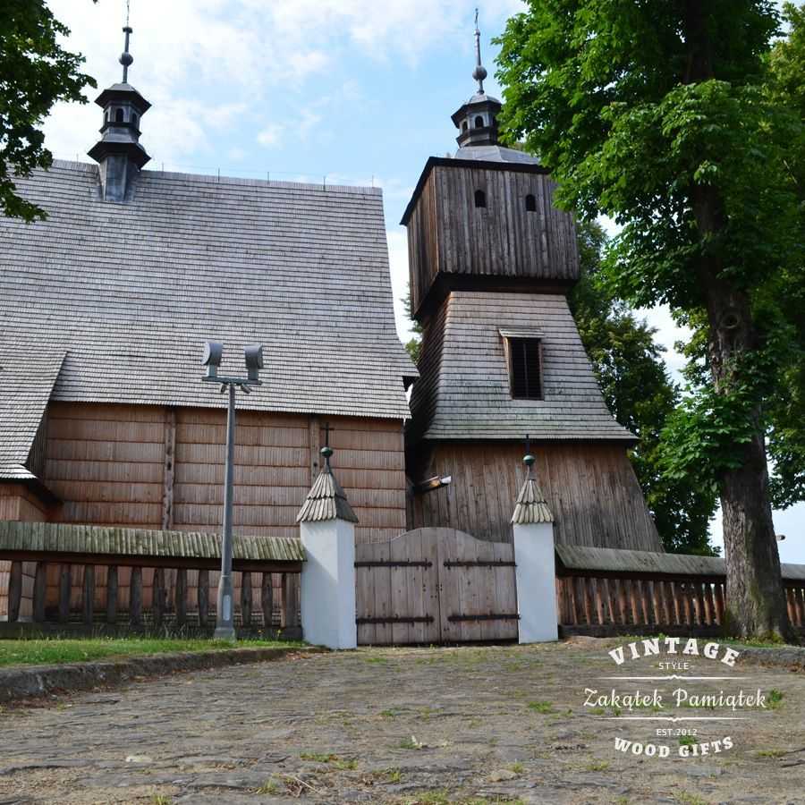 Szlak Architektury Drewnianej województwo podkarpackie
