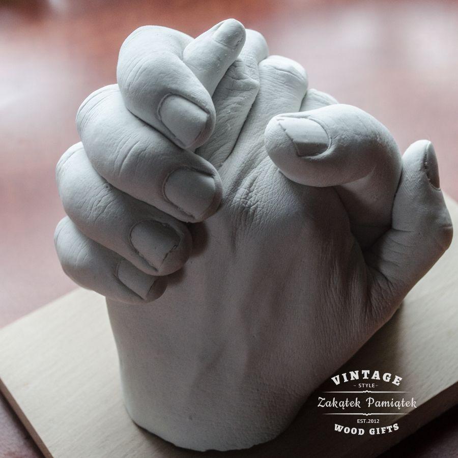 Uścisk Miłości odlew gipsowy 3D
